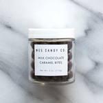 Medium milk chocolate caramel bites