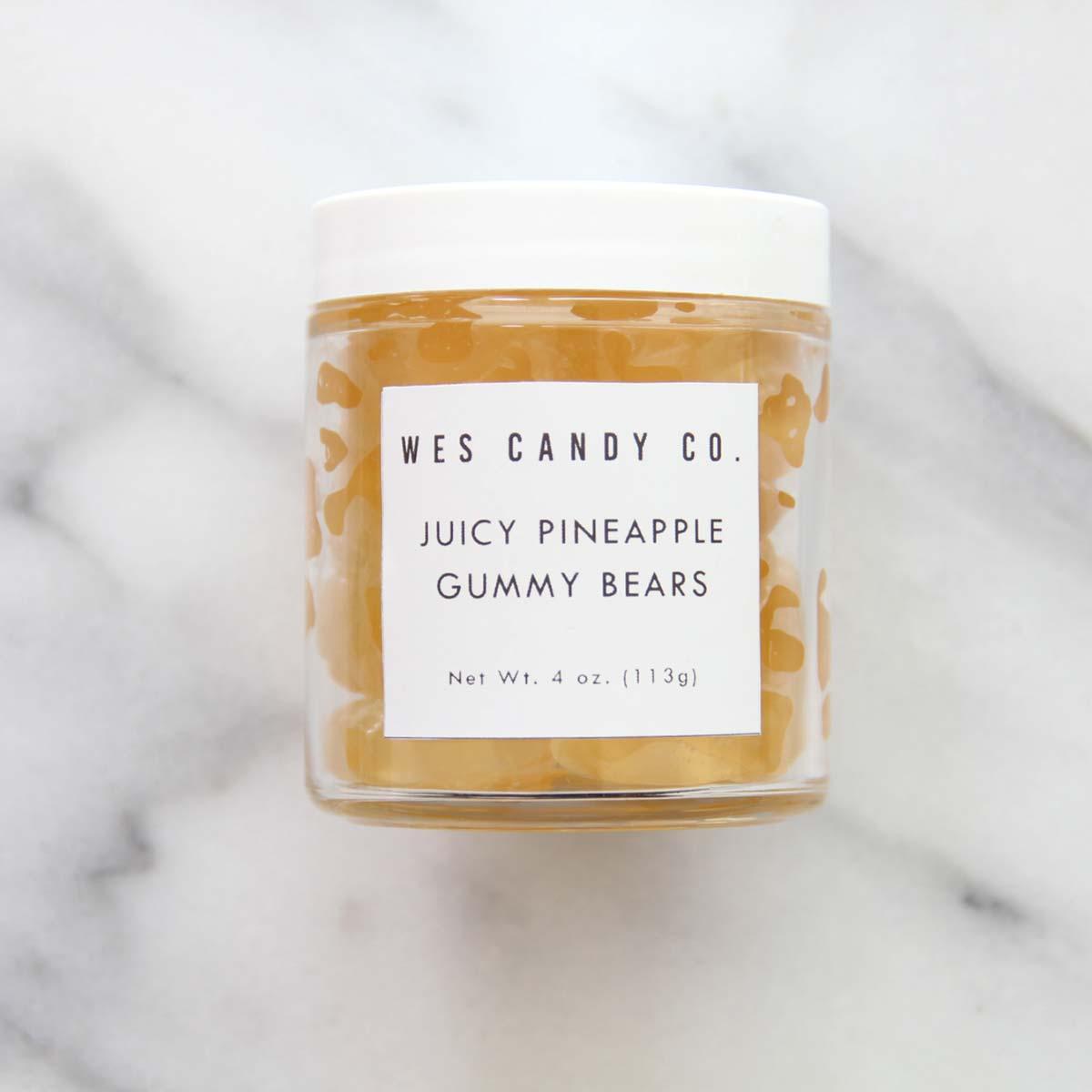 Pineapple gummy bears