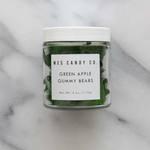 Medium green apple gummy bears