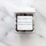 Medium dark chocolate espresso beans