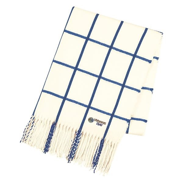 Window scarf navy