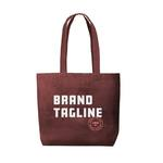 Medium 361701 daisy corduroy tote one color one side imprint