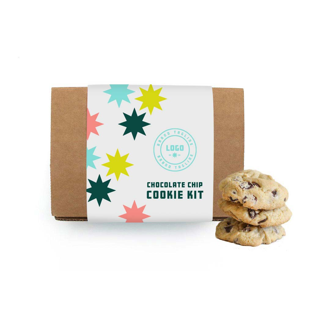 357307 cookie baking set full color wrap on box