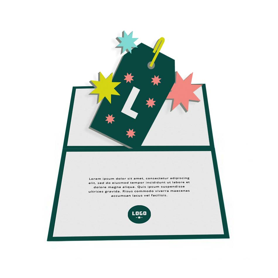 352962 pop up card large laser cut front pop up center