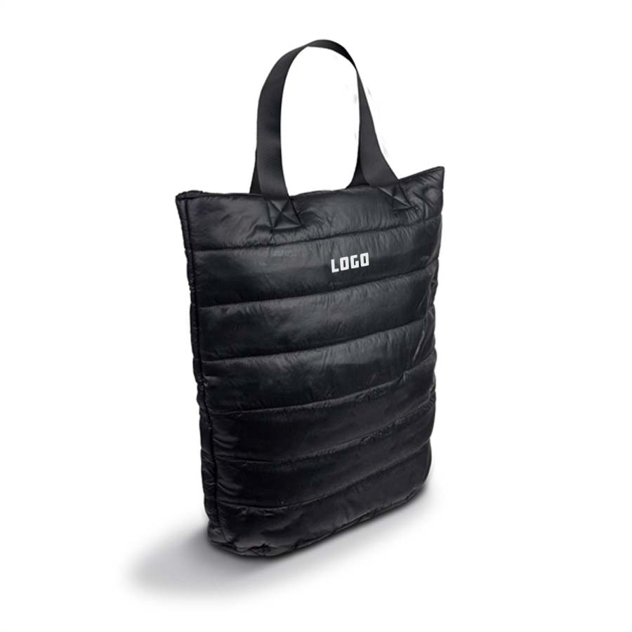 364266 puffer tote one color one location imprint