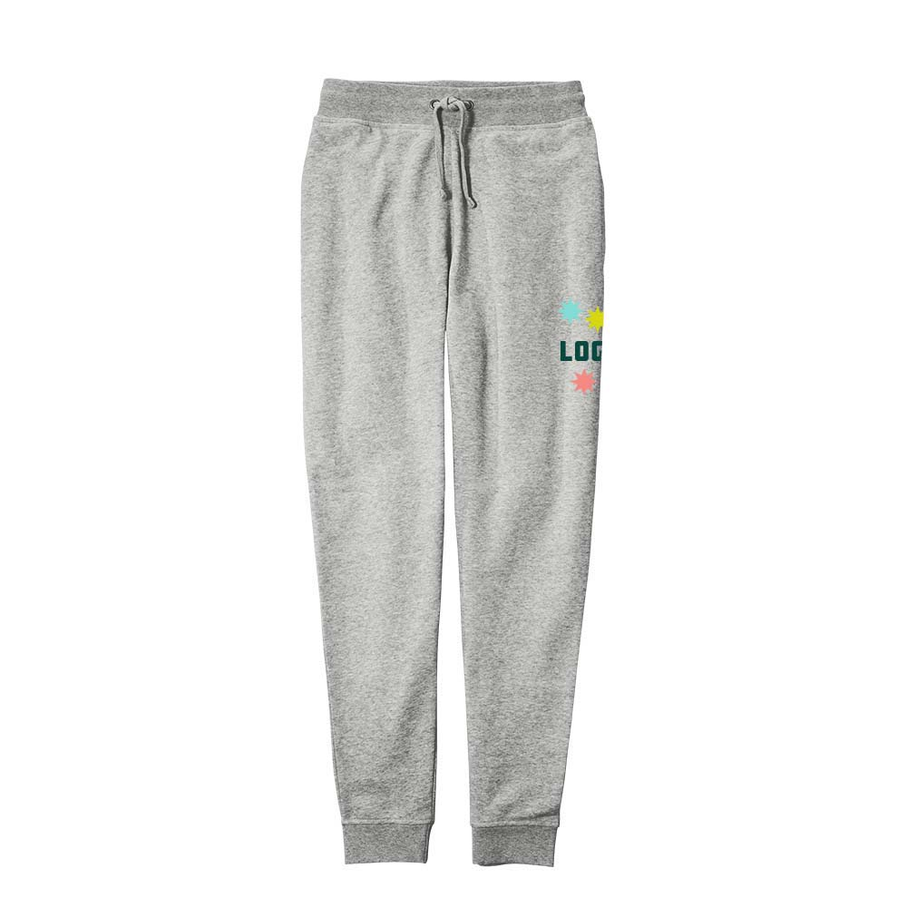 361669 unisex fleece jogger full color heat transfer up to 4 x 4 one location