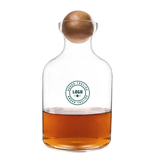 361665 lodge decanter one color imprint