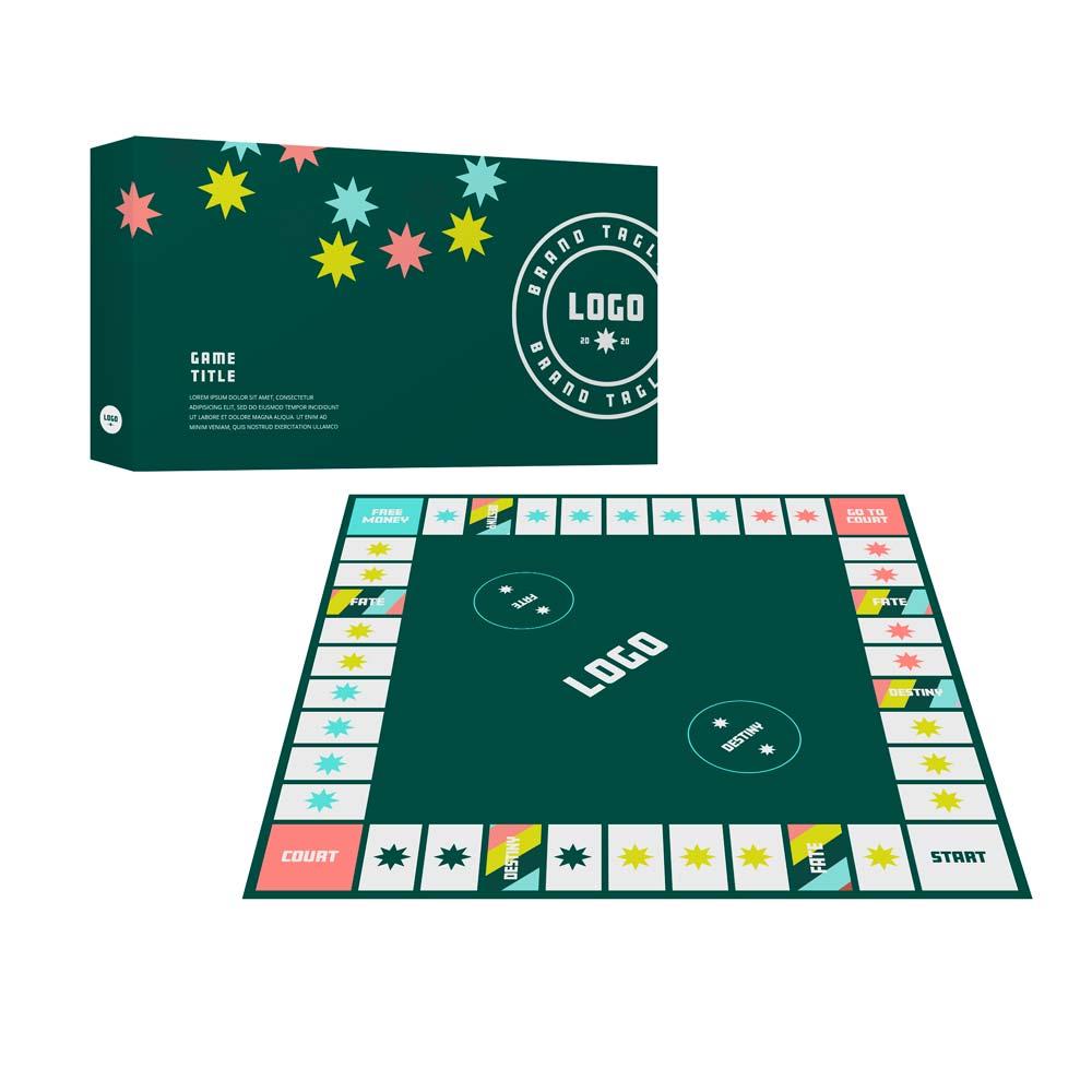 357367 custom monopoly custom board box