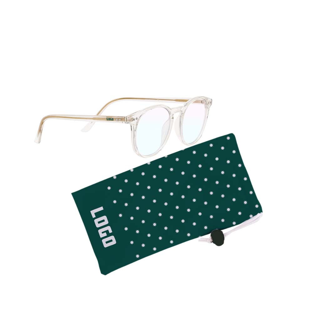 361680 hackett blue light glasses full color full bleed pouch one color imprint on one arm