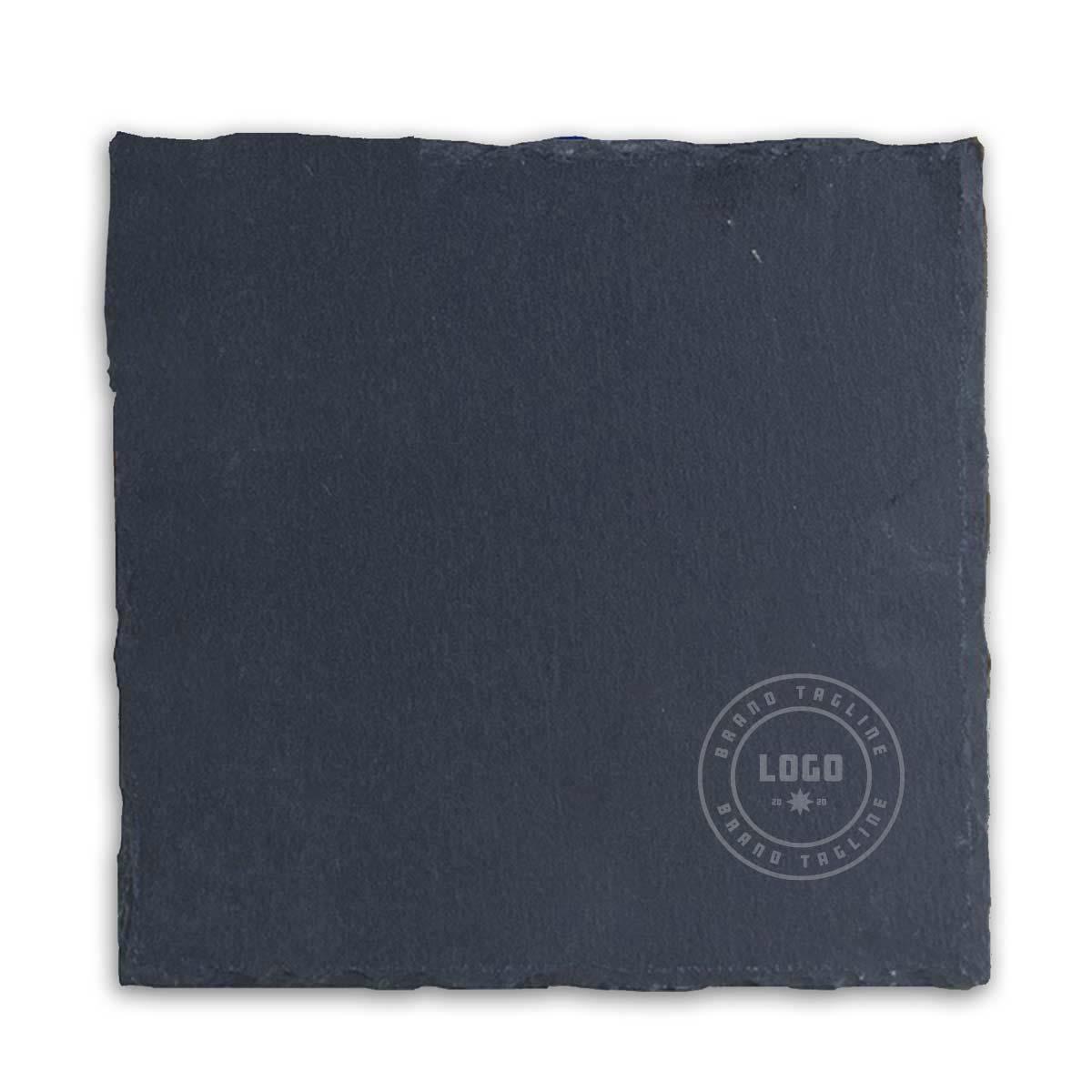 361675 heritage slate trivet one color screenprint or laser engraved 3 x 3