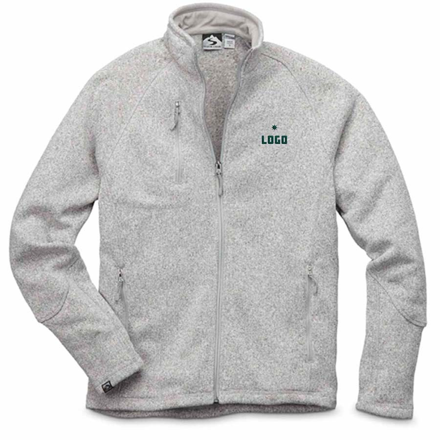 357762 mccallum sweaterfleece jacket one location embroidery up to 6k stitches