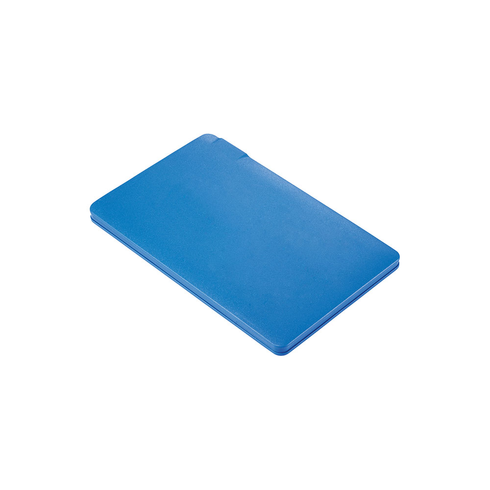 Blue wallet power bank