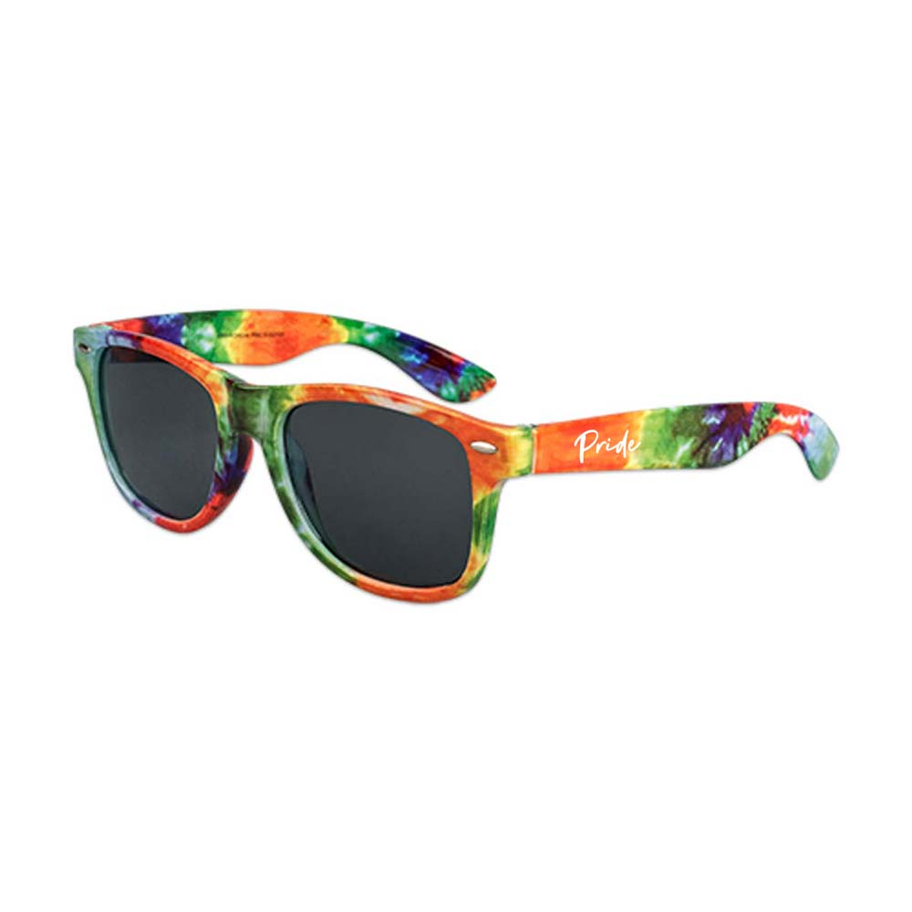 464856 tie dye sunglasses one color one location imprint