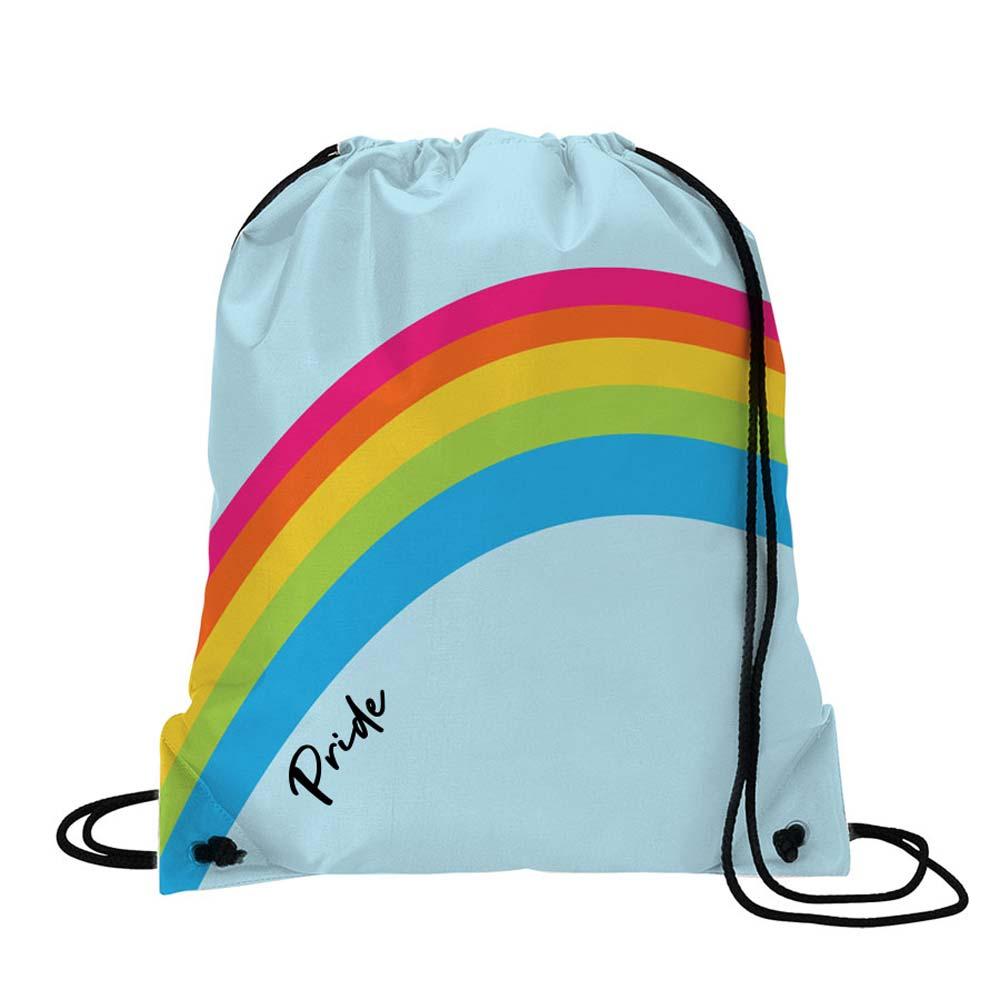 464831 radiant drawstring backpack full color digital imprint one design both sides