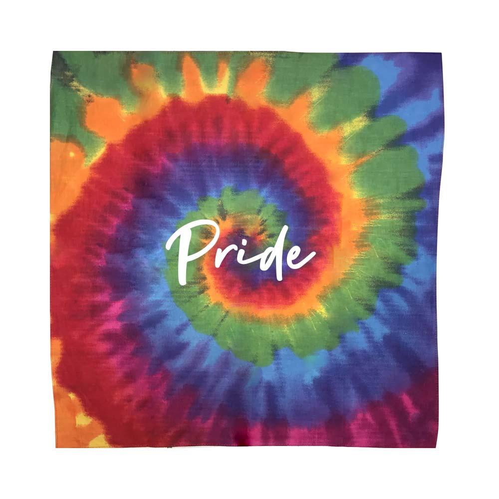 464854 tie dye bandana one color one location imprint