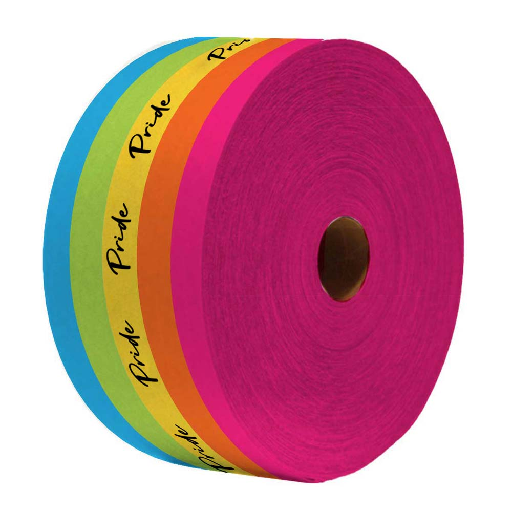 464864 printed packing tape full color print one side
