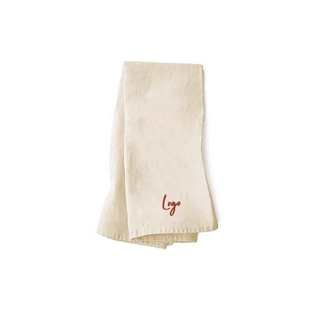 510920 tipsy dish towel one color imprint one location