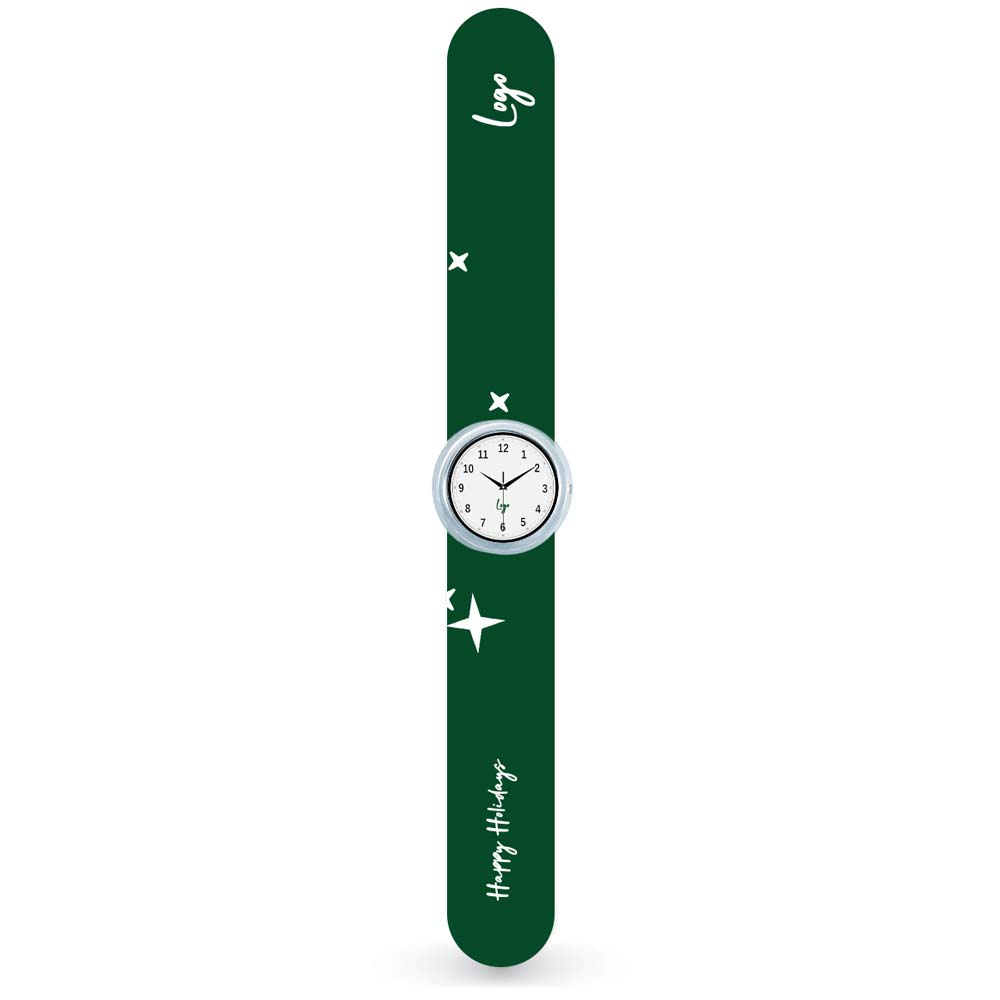 510937 slap watch full color face and band