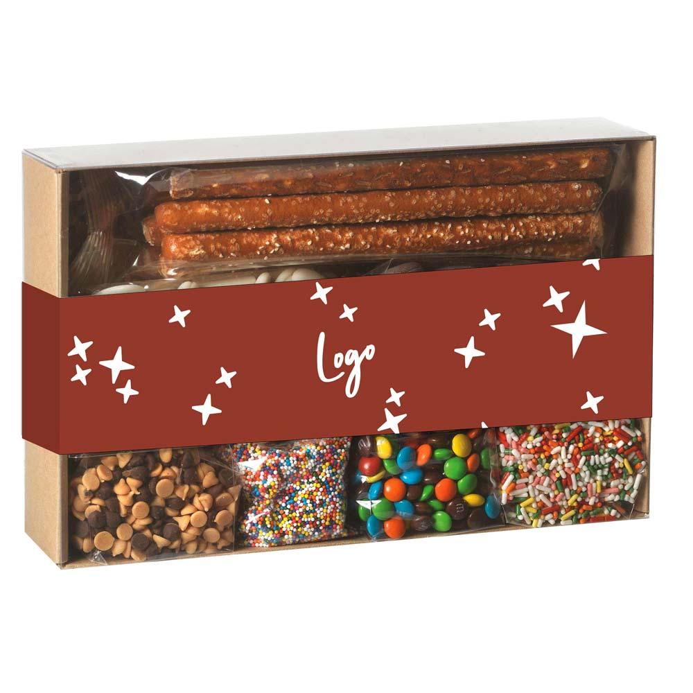 510950 chocolate pretzel kit full color wrap