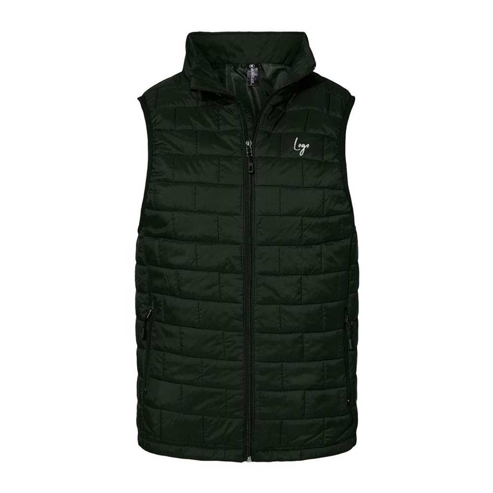 513745 puffer vest embroidery one location up to 8k stitches