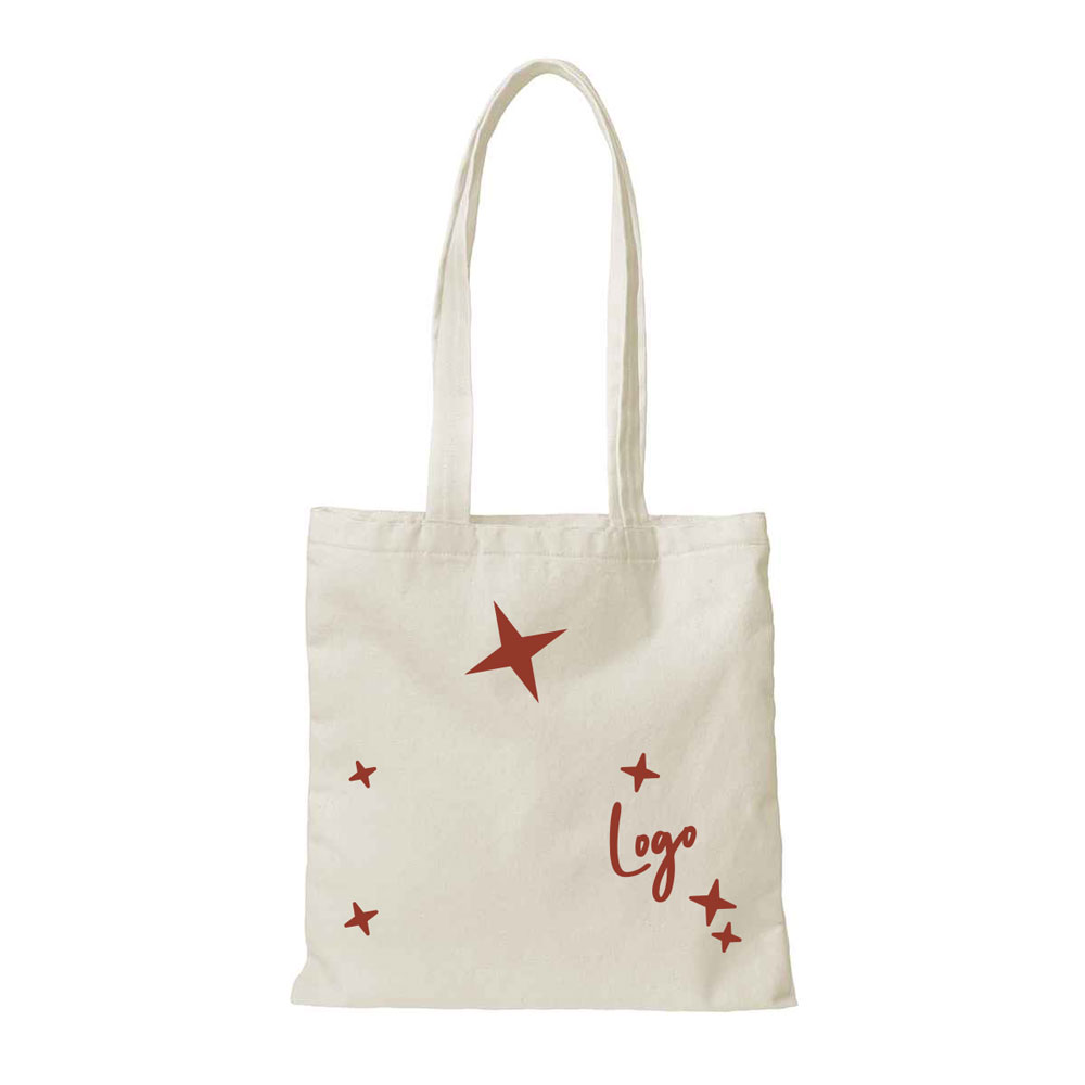 510880 premium canvas square tote four color imprint full bleed natural canvas only