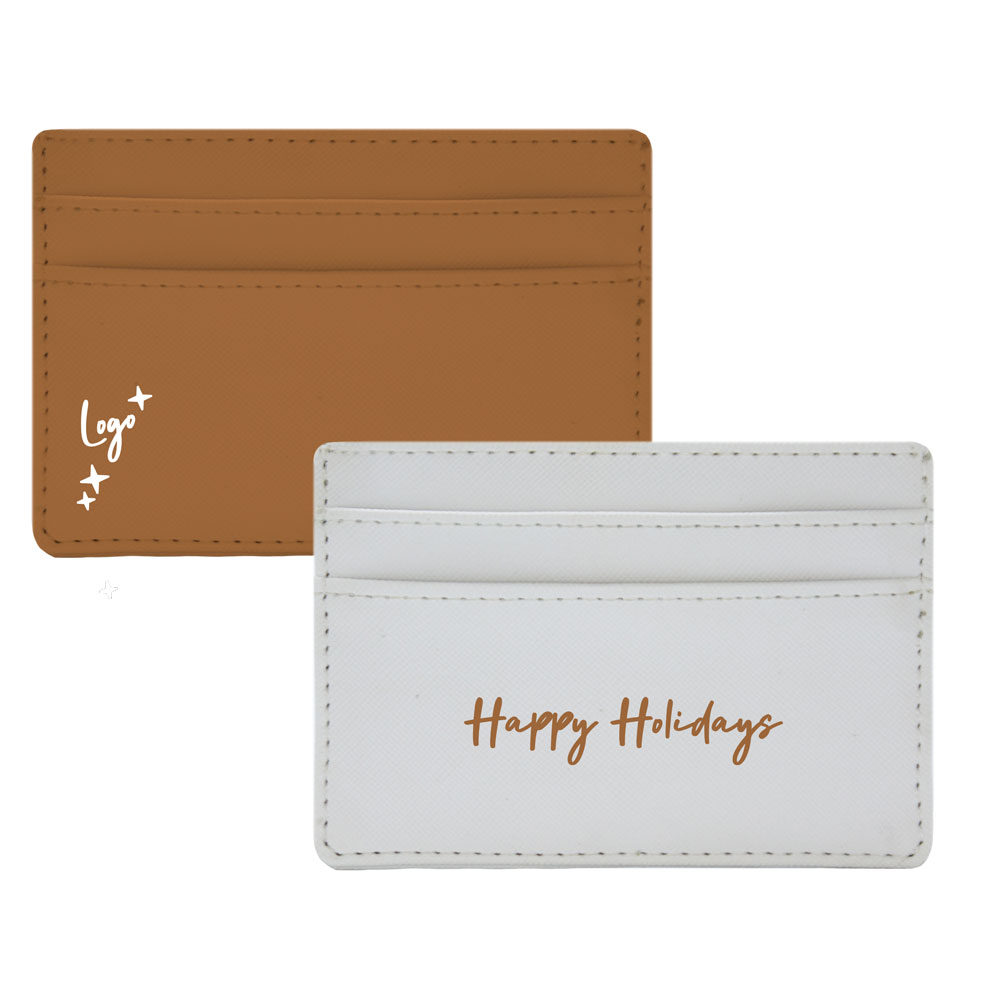 510993 ava card wallet full color unique design on each side solid upper tiers