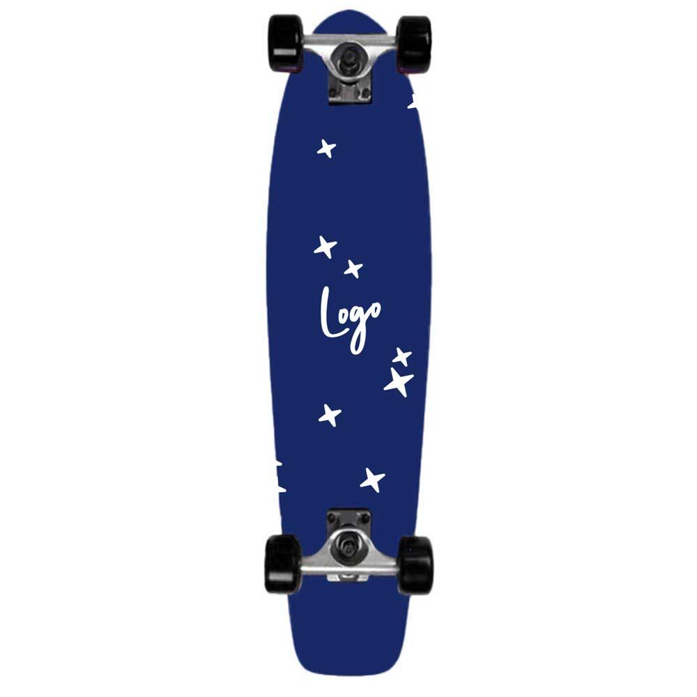 510941 29 custom cruiser skateboard full color bottom decal