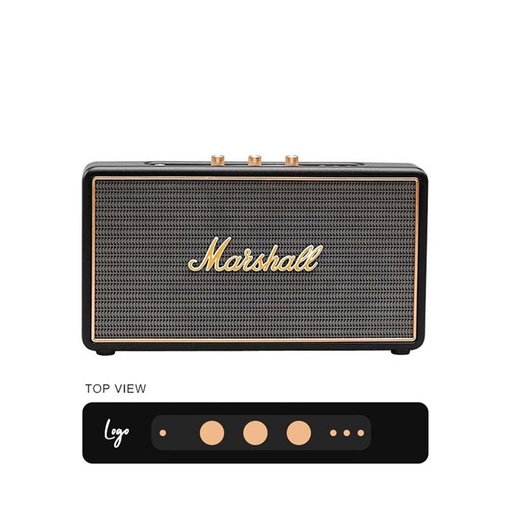 510979 stockwell bluetooth speaker one color logo