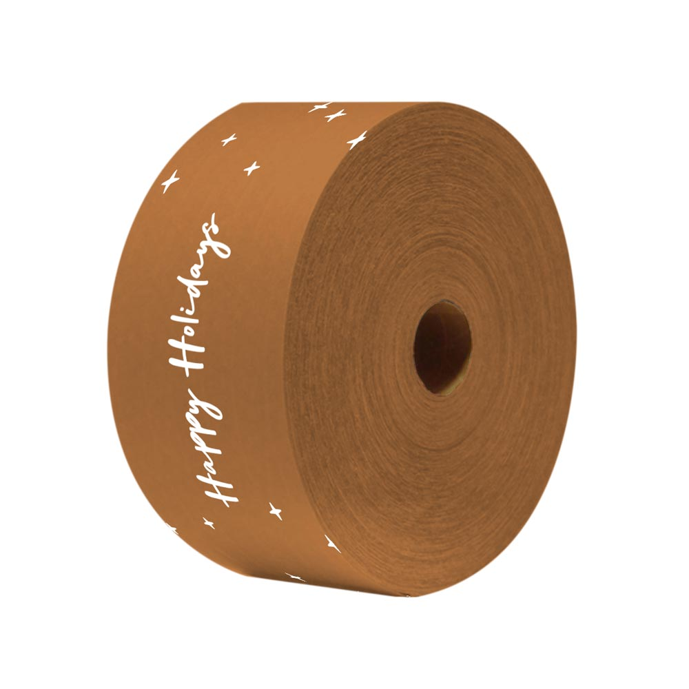 510907 printed packing tape full color print one side