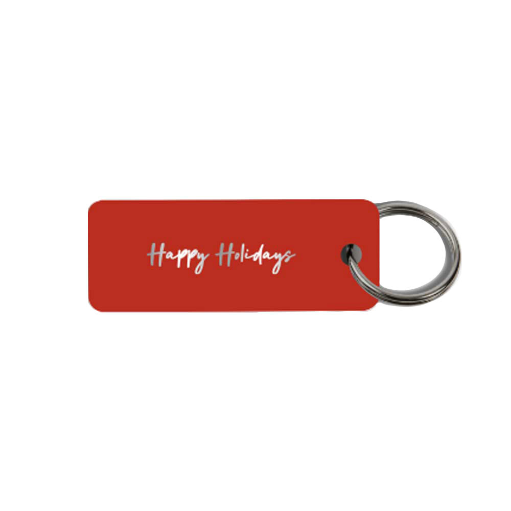 513844 custom keytag laser engraved one sided text only