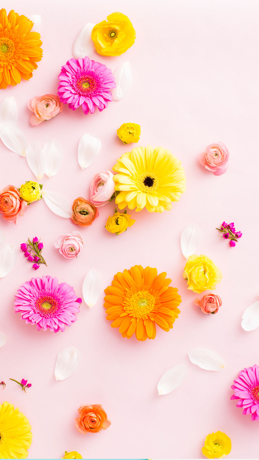 9 brand new desktop and smartphone wallpapers for spring - Flower wallpaper for your phone ...