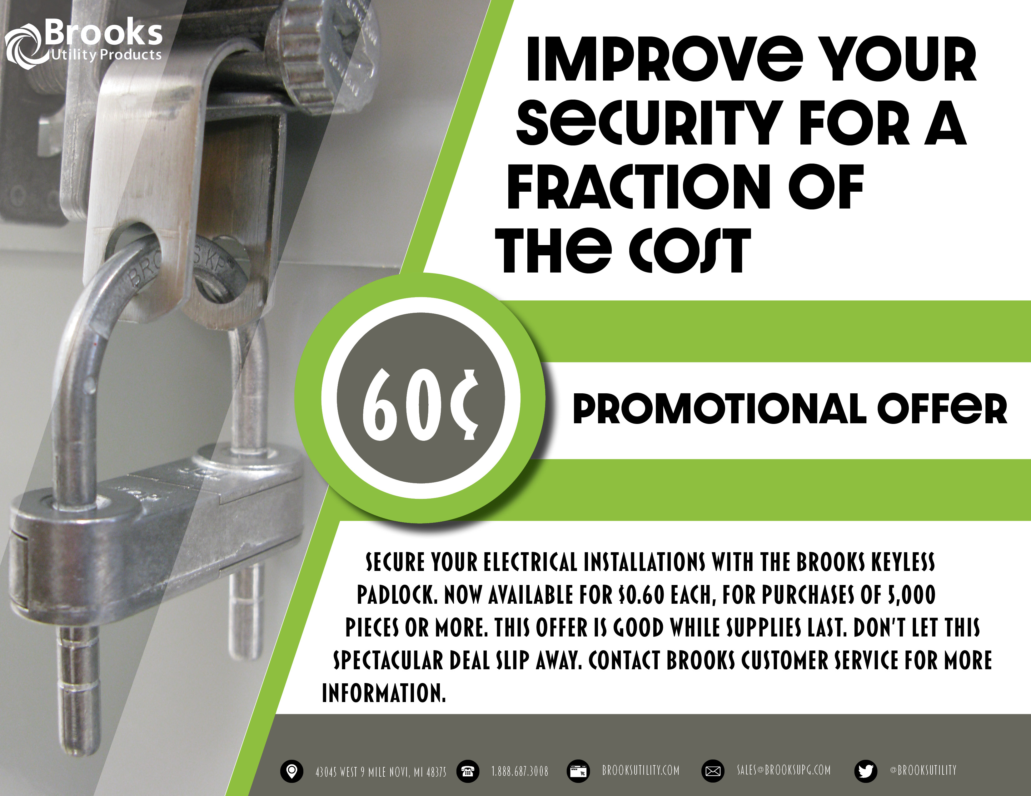 promotions flyer