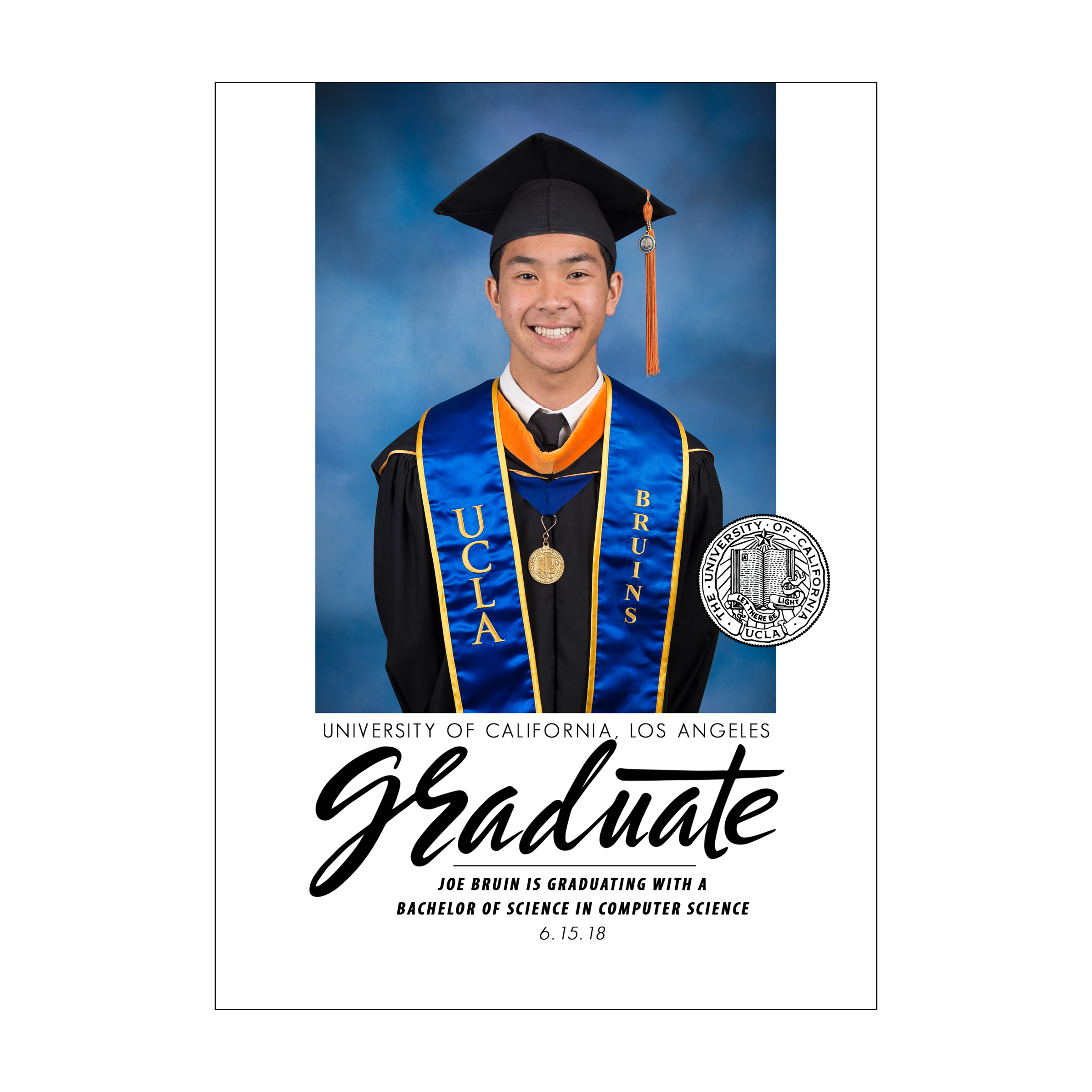 Statement Graduation Announcement