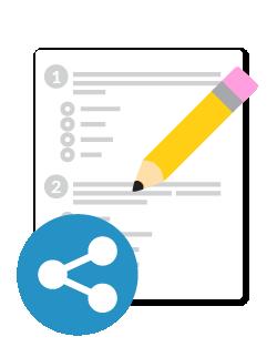 Comparte evaluaciones personalizadas