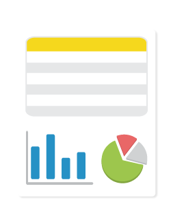 Estadísticas e informes semestrales