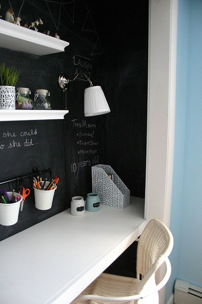 Kid's Cloffice Reveal via Hometalker Christina @No.29 Design