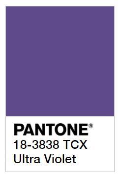 Wonderlijk The 2018 Pantone Color of the Year Is Here, and It's Purple RZ-37