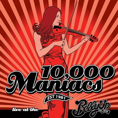 10,000 Maniacs - Live at the Belly Up show cover thumbnail