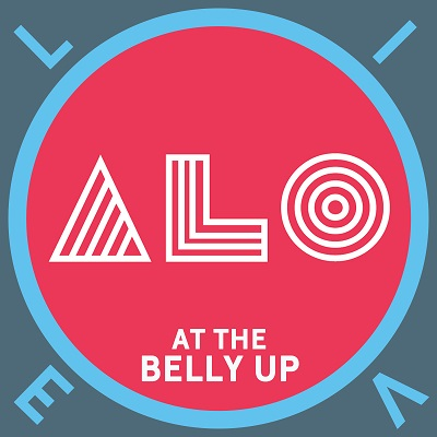 ALO - Live at the Belly Up show cover thumbnail