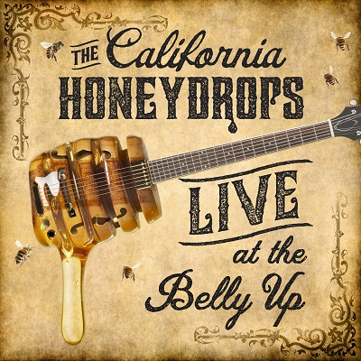The California Honeydrops - Live at the Belly Up - EP show cover thumbnail