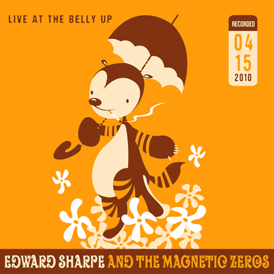 Edward Sharpe and the Magnetic Zeros - Live at the Belly Up show cover thumbnail