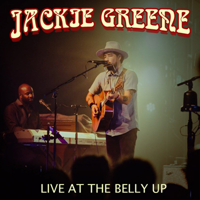 Jackie Greene - Live at the Belly Up show cover thumbnail