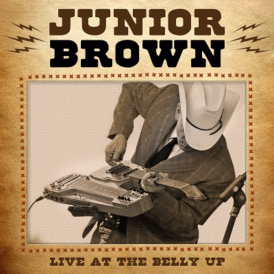 Junior Brown - Live at the Belly Up show cover thumbnail