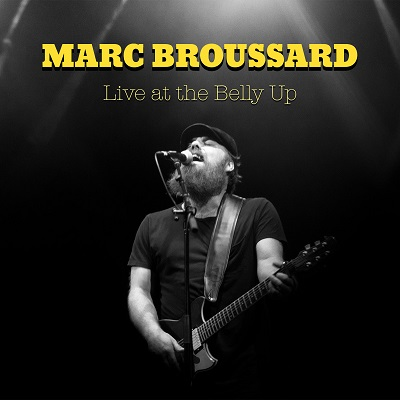 Marc Broussard - Live at the Belly Up show cover thumbnail