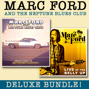 Marc Ford & The Neptune Blues Club - Deluxe Bundle: The Vulture + Live at the Belly Up show cover thumbnail