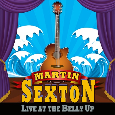 Martin Sexton - Live at the Belly Up show cover thumbnail
