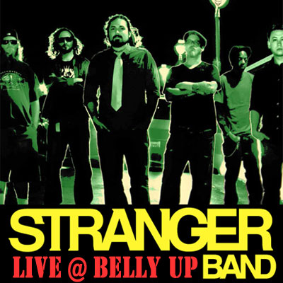 Stranger - Live at the Belly Up show cover thumbnail