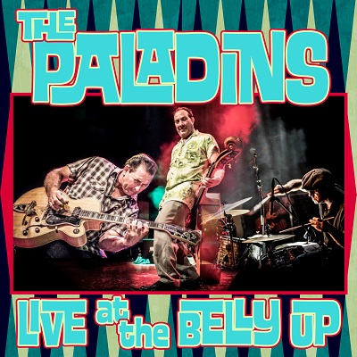 The Paladins - Live at the Belly Up show cover thumbnail