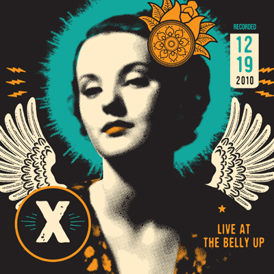 X (the band) - Live at the Belly Up show cover thumbnail