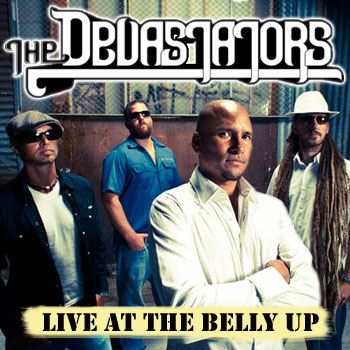 The Devastators - Live at the Belly Up show cover thumbnail
